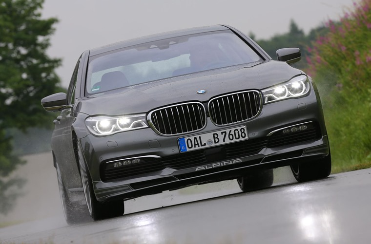 The world's fastest four-door – the BMW B7 Alpina