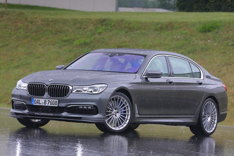 The B7 Alpina is capable of 205mph.