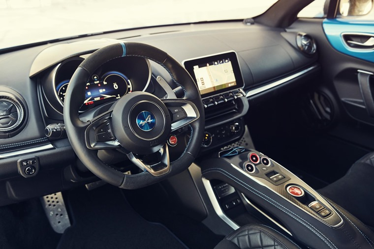 The interior is crisp and modern, and all cars will feature a seven-speed DCT Autobox and three driver modes.