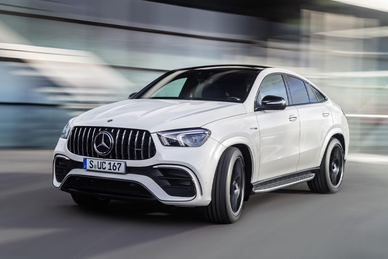 All-new gle-63 coupé front