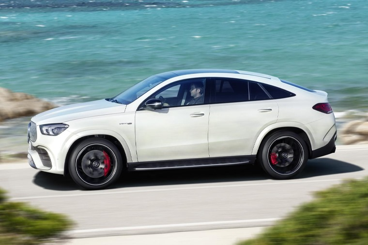 All-new gle-63 coupé side