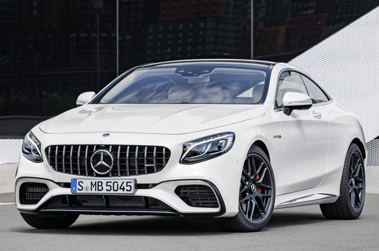 AMG variants get a smaller (but more potent) V8 and a more aggressive grille design.
