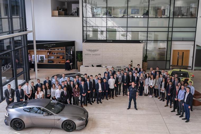 Aston Martin 2018 Apprentices and Graduates