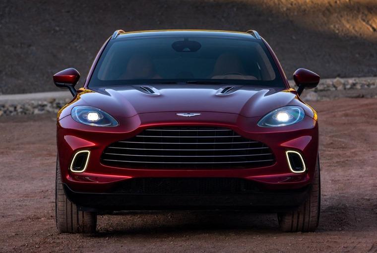 Aston Martin DBX front