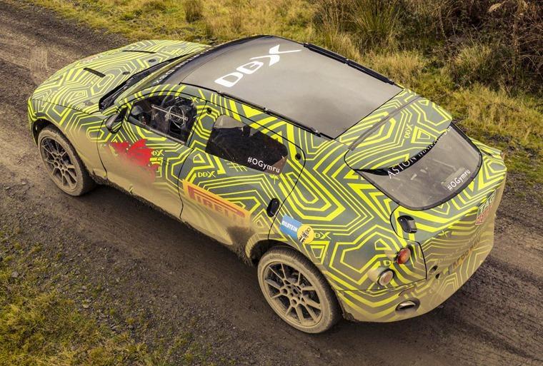 Aston Martin DBX prototype rear