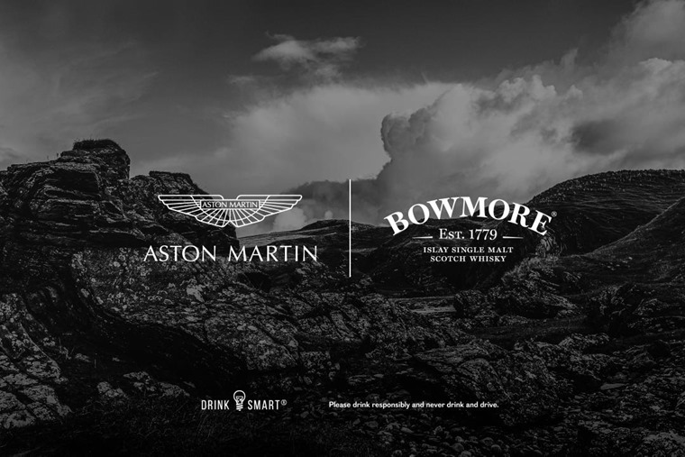 Aston Martin partners with Bowmore® on exclusive limited-edition whisky bottlings and innovative lifestyle experiences
