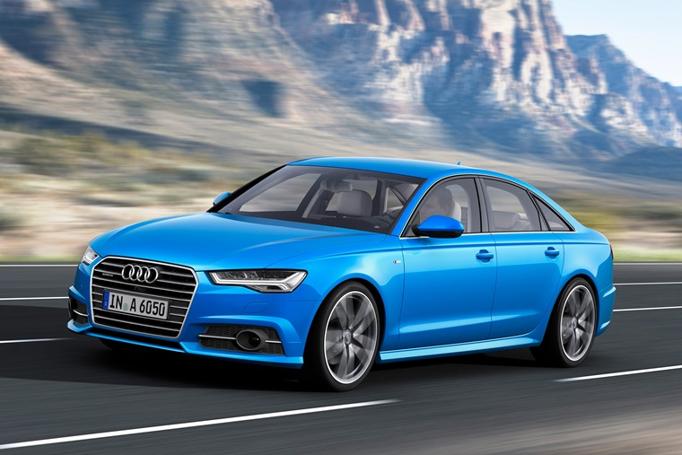 The A6 is enhanced by a larger, more prominent grille and wider front air intakes that lend it a more sophisticated swagger