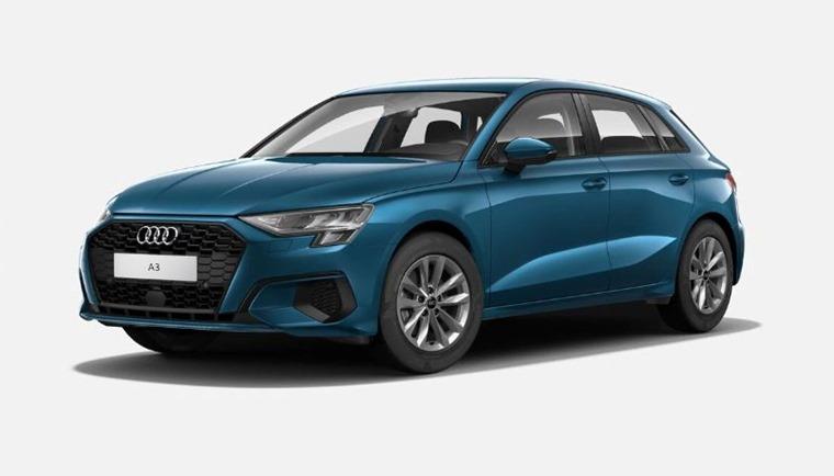 Audi A3 2021 Atoll Blue metallic 575
