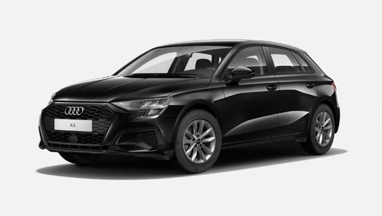 Audi A3 2021 Brilliant Black no cost option