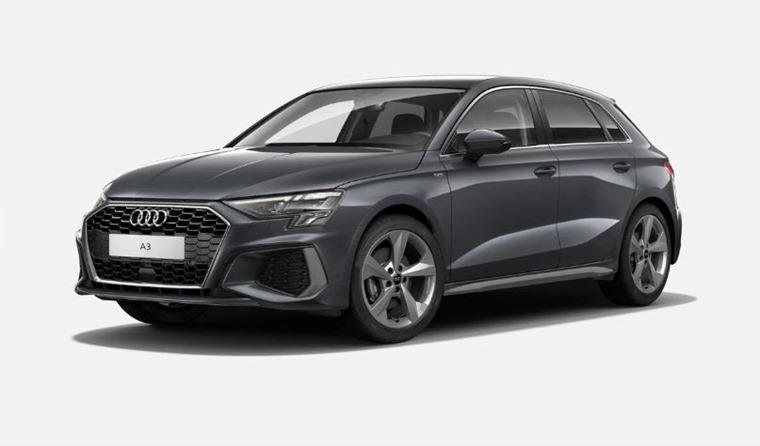 Audi A3 2021 Daytona Grey pearl 575