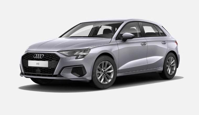 Audi A3 2021 Floret Silver metallic 575