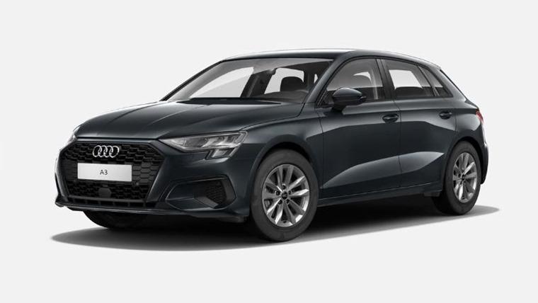 Audi A3 2021 Manhatten Grey metallic 575