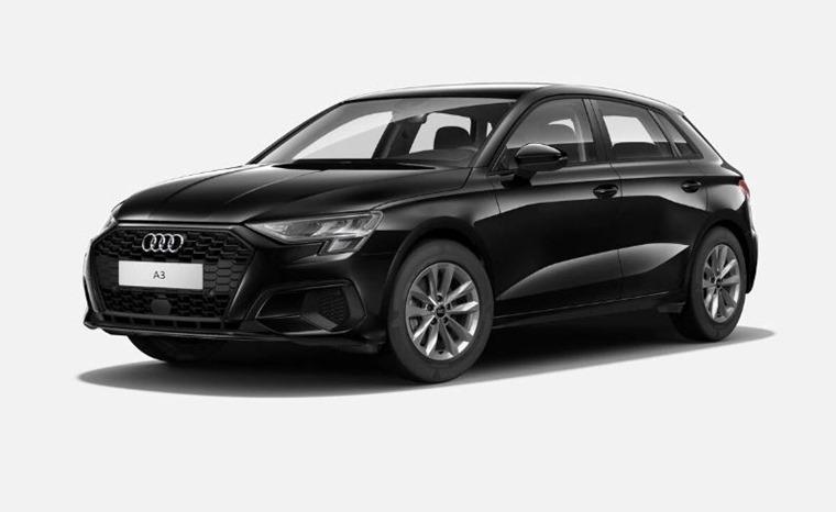Audi A3 2021 Mythos Black metallic 575