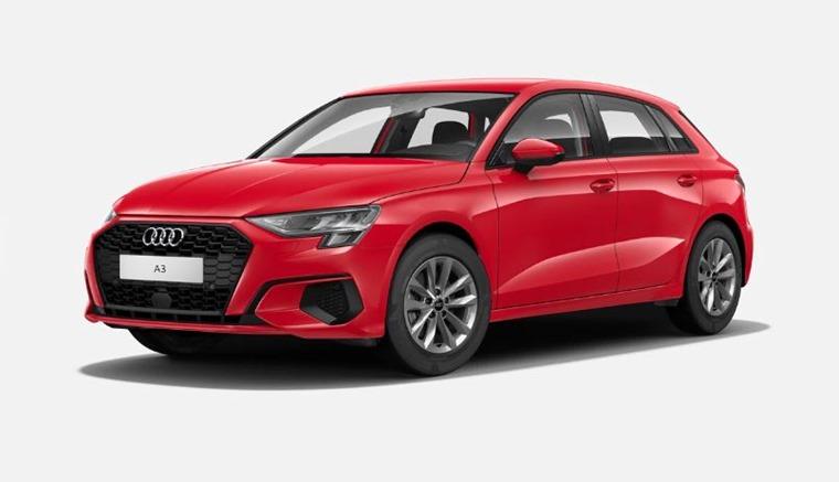 Audi A3 2021 Tango Red metallic 575