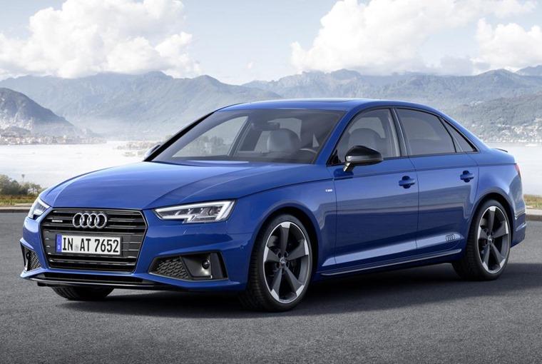 Audi A4 2018 front
