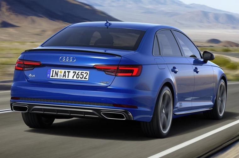 Audi A4 2018 rear