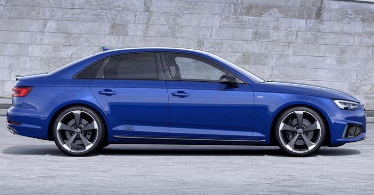 Audi A4 2018 side