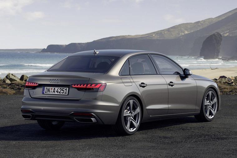 Audi A4 2019 rear