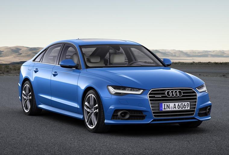Audi A6 2017 Blue Front Static