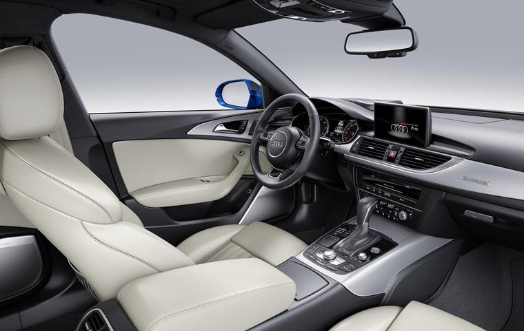 Audi A6 2017 Blue Interior