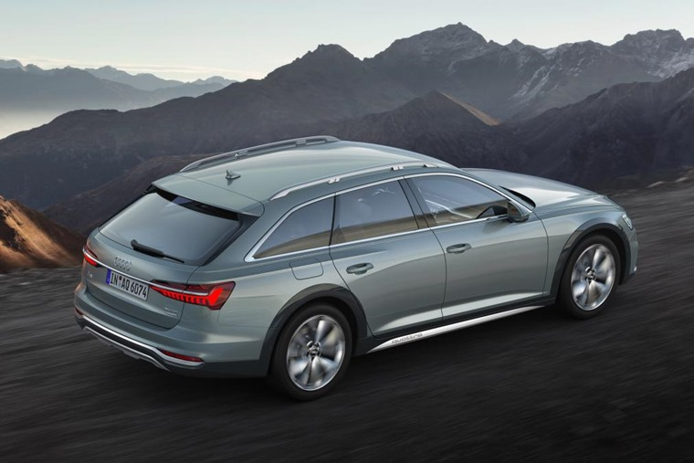 Audi A6 allroad 2019 rear