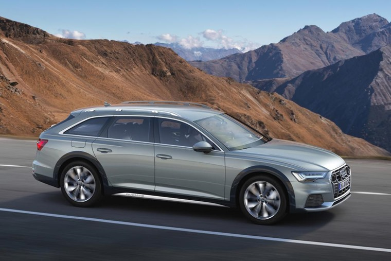 Audi A6 allroad 2019 side