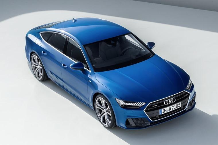 Audi A7 Sportback now featuring 48V mild-hybrid tech.