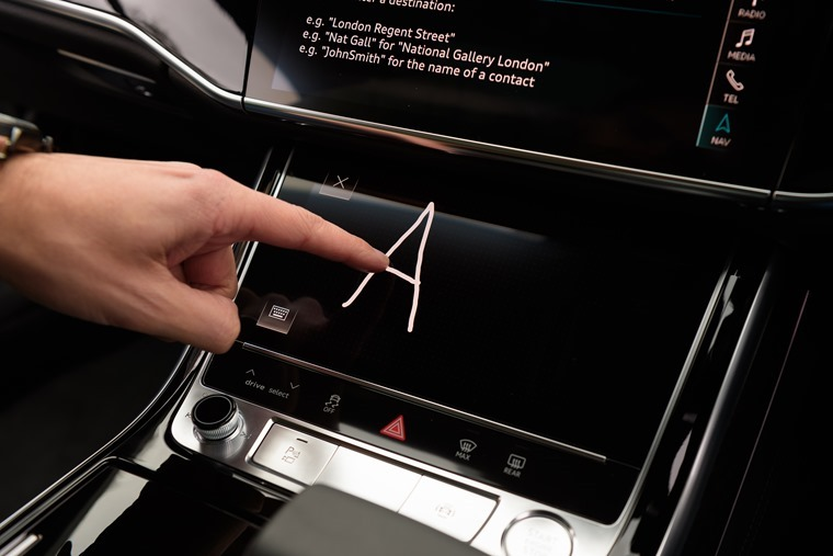Audi A8 infotainment