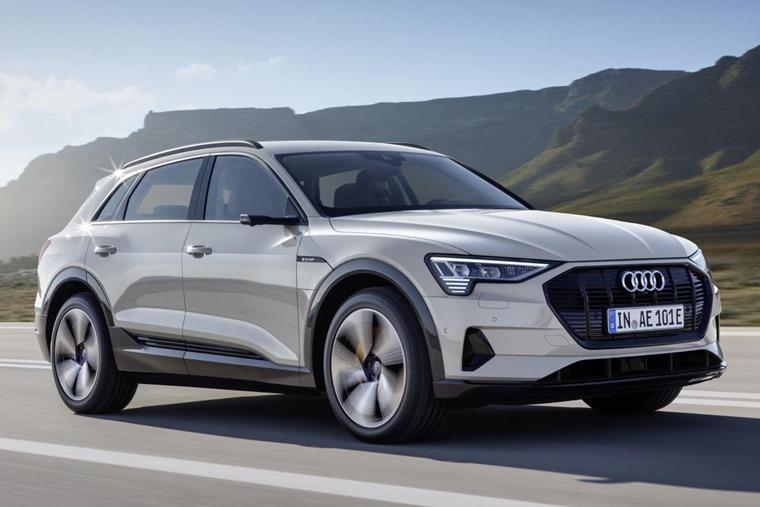 Audi E Tron 2019 Front