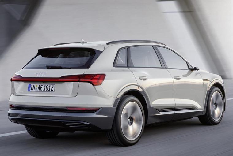 Audi e-tron 2019 rear