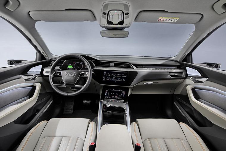 Audi e-tron 50 interior