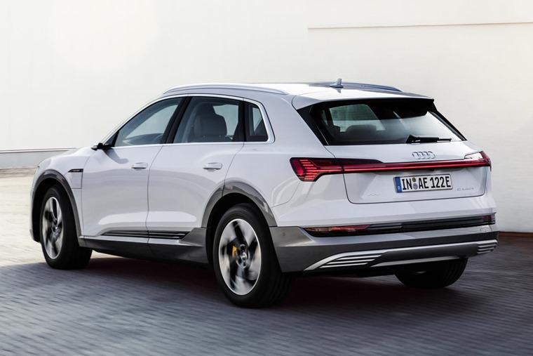 Audi e-tron 50 rear
