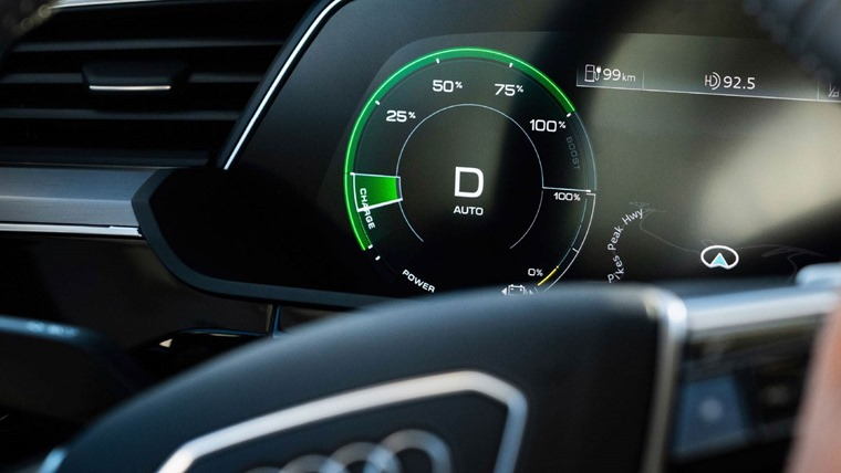 Audi e-tron efficiency