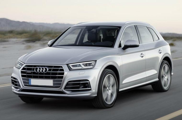 Audi Q5 offside front
