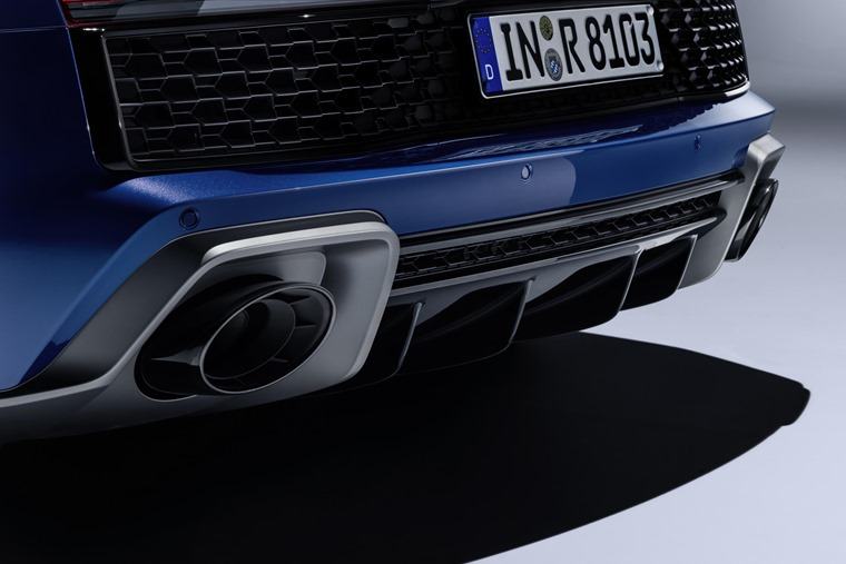 Audi R8 2019 exhaust detail