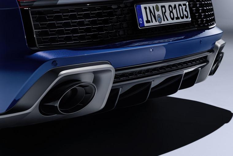 Audi R8 2019 exhaust detail