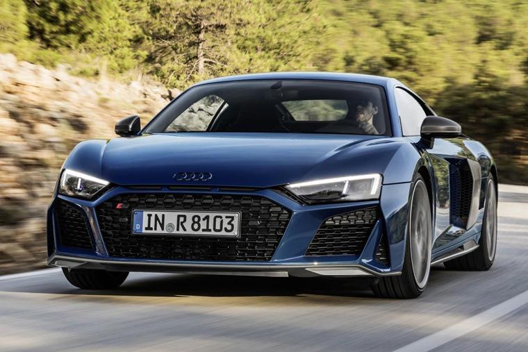Audi R8 2019 front