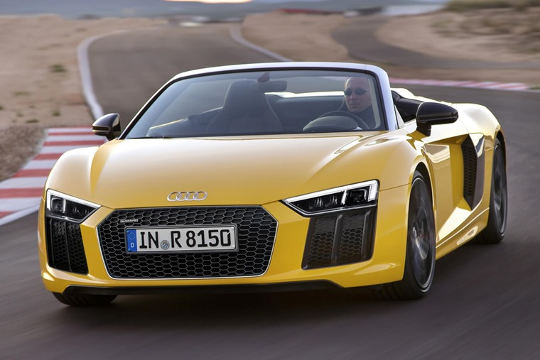 Audi Lifts The Lid On 197mph R8 Spyder Coming Late 2016 Leasingcom