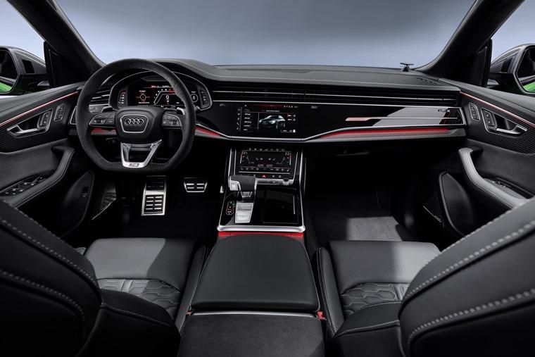 Audi RS Q8 interior