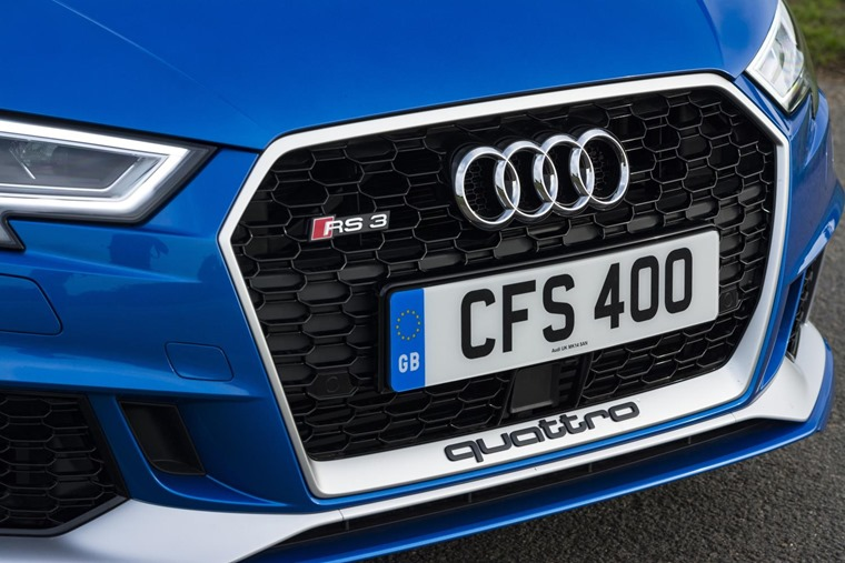 Audi RS3 detail front