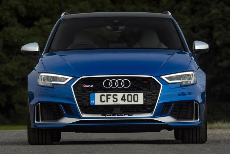 audi RS3 front nose