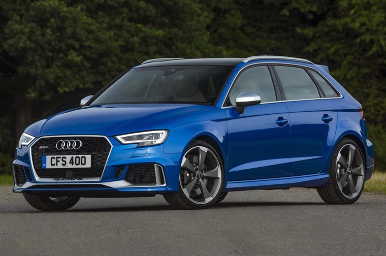 Audi RS3 front static