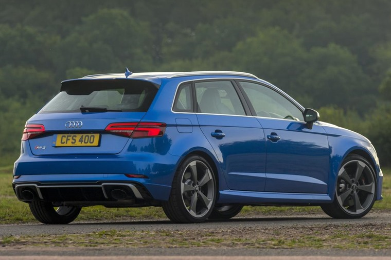 Audi RS3 rear static