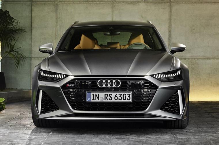 Audi RS6 Avant 2019 front
