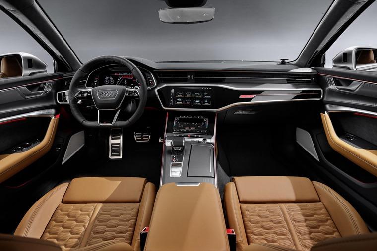 Audi RS6 Avant 2019 interior