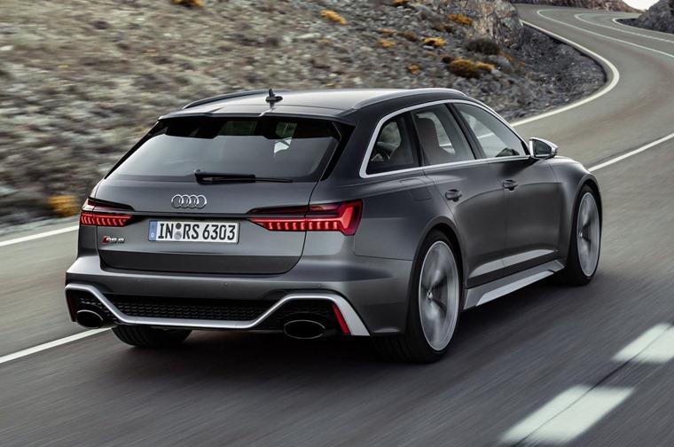 Audi RS6 Avant 2019 rear