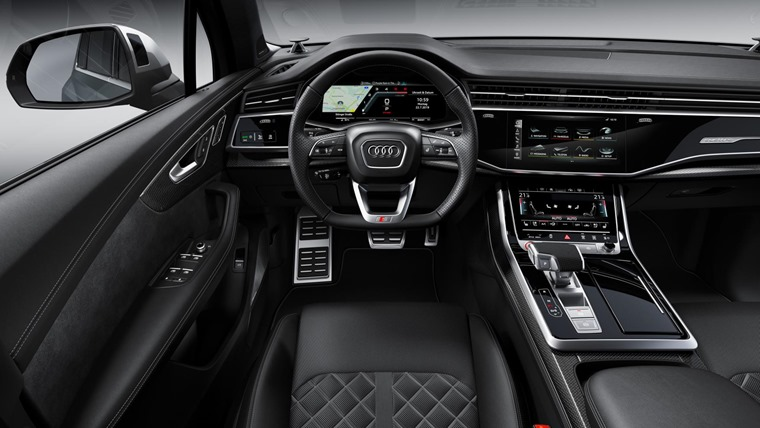 Audi SQ7 2020 INTERIOR