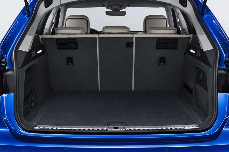 Audi A6 Avant boot space