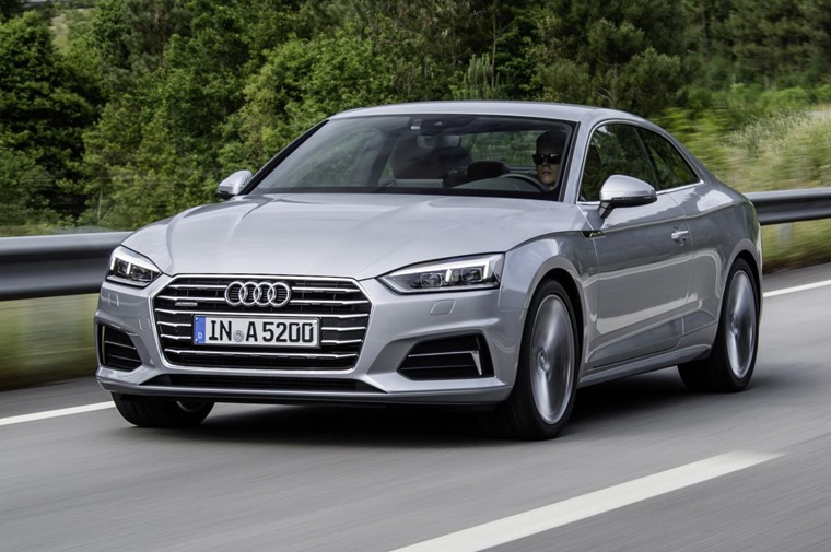 The new Audi A5 is available now.