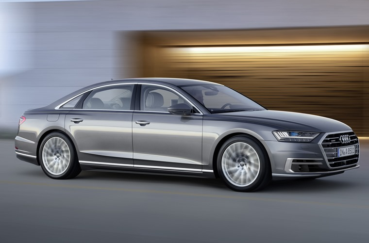 The new Audi A8 will take the fight to the upcoming S Class and latest BMW 7 Series.